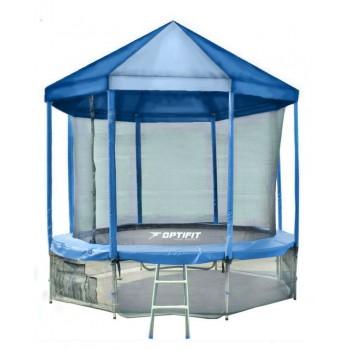 Батут OPTIFIT LIKE BLUE 16 FT с синей крышей