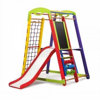 Детский спортивно-игровой комплекс SportWood Кроха1 Plus3