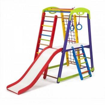 Детский спортивно-игровой комплекс SportWood Кроха1 Plus2