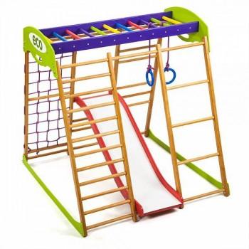 Детский спортивный комплекс для квартиры SportWood Карамелька Plus1