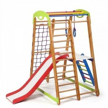 Спортивно-игровой комплекс для детей SportWood Кроха2 Plus2