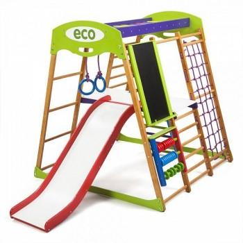 Детский спортивный комплекс для квартиры SportWood Карамелька Plus3