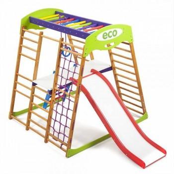 Детский спортивный комплекс для квартиры SportWood Карамелька Plus2