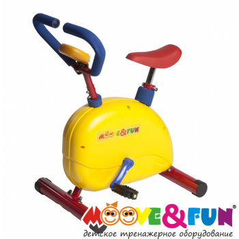 Велотренажер с компьютером Moove&Fun SH-02C