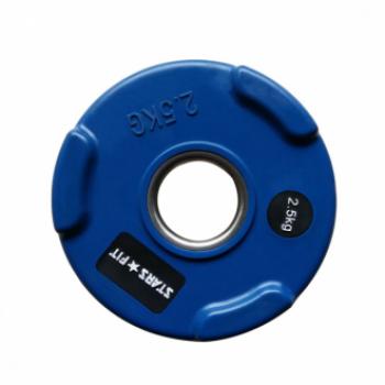 Диск олимпийский цветной Grome WP074-2,5 кг