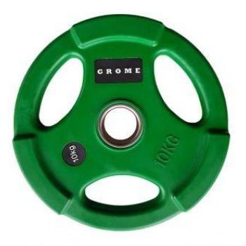 Диск олимпийский цветной Grome WP074-10 кг
