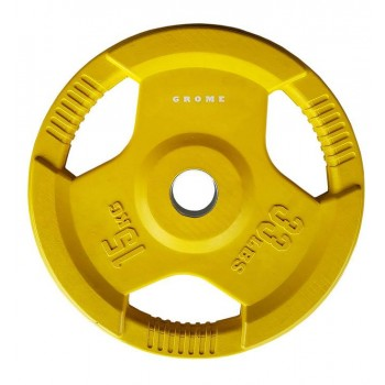 Диск олимпийский цветной Grome WP012-15 кг