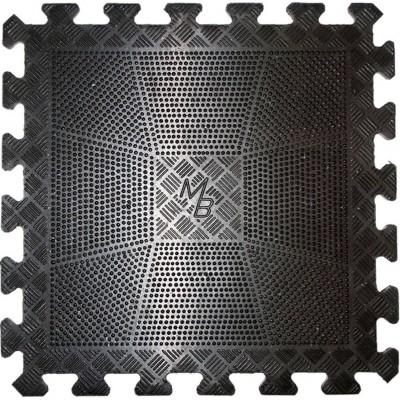 Коврик резиновый черный MB Barbell MB-MATBI-12