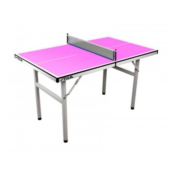 Теннисный стол Stiga Pure Mini (розовый)