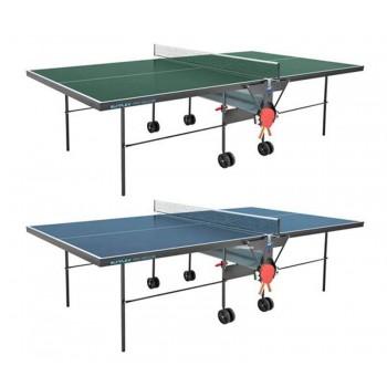 Теннисный стол Sunflex Pro Indoor синий/зеленый