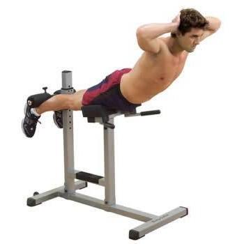 Римский стул + гиперэкстензия BodySolid GRCH-322