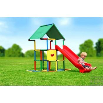 Детский игровой комплекс Quadro Junior + Integrated Slide