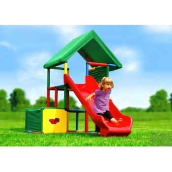 Детский игровой комплекс Quadro Universal + Integrated Slide