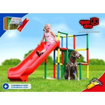 Детский игровой комплекс Quadro Starter + Integrated Slide