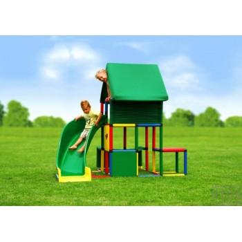 Детский игровой комплекс Quadro Universal + Curved Slide