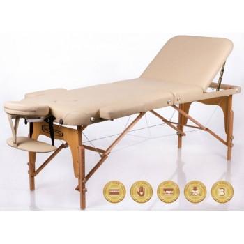 Складной массажный стол RESTPRO Memory 3 Beige