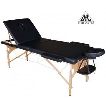 Массажный стол DFC Nirvana Relax Pro Black (черный)