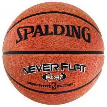 Баскетбольный мяч Spalding NBA Neverflat с технологией удержания воздуха