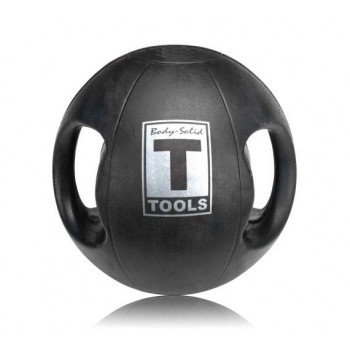 Медицинский мяч Body-Solid 10LB / 4.5 кг черный BSTDMB10