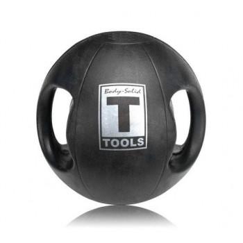 Медицинский мяч Body-Solid 25LB / 11.3 кг черный BSTDMB25