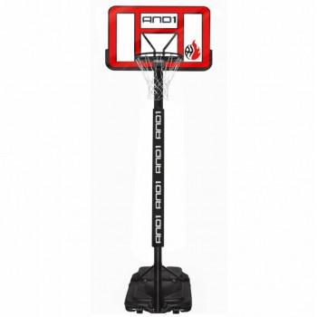 Мобильная баскетбольная стойка AND1 Power Jam Basketball System