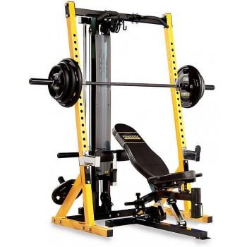 Силовая стойка и скамья под штангу Half Rack Powertec WB-HR14