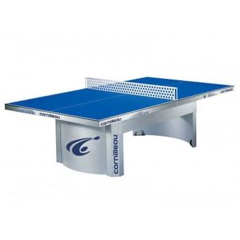 Теннисный стол всепогодный Cornilleau Pro 510 Outdoor (серый, синий)