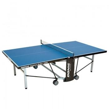 Всепогодный теннисный стол Donic Outdoor Roller 1000 Blue