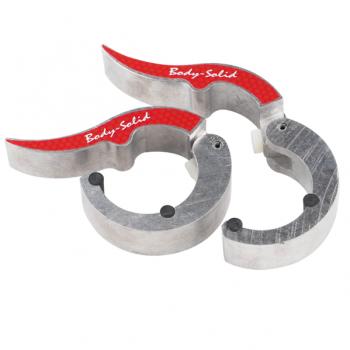 Замки алюминиевые Body Solid ROEPKE (пара) BSTROC-NAT